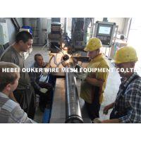 欧科高精度纯圆梯形丝绕丝筛管设备300型,纯圆滤芯,井下防砂管设备