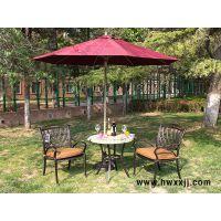 馨宁居咖啡洞瓷砖圆桌户外铸铝家具阳台休闲桌椅花园家具