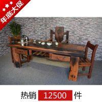 郑州实木茶桌价格 功夫茶几尺寸厂家批发 茶台餐桌图片 泡茶桌茶盘