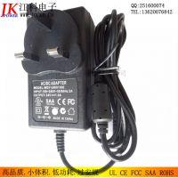 WDY供应CE认证24V1A适配器24W电源专业出口欧洲液晶显示器/监控设备
