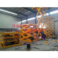 厂供青岛导轨液压升降机 车间载货货梯天锐升降机械