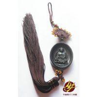红木雕礼品工艺品中国结车挂护身符摆挂饰蛋形阿弥陀佛(猪、狗)
