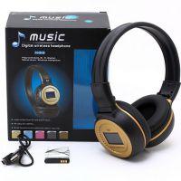 耳机批发 N65 插卡耳机 无线重低音插卡耳机 头戴式耳机 显示歌词