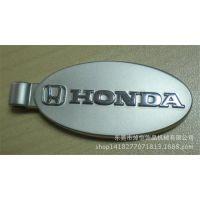 厂家定做车标吊牌 钥匙配件 锌合金本田汽车车标 压铸件