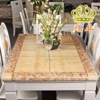 包邮龙塑免洗桌布透明软玻璃餐桌布磨砂桌垫防水茶几垫PVC水晶板