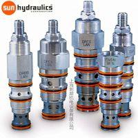 SUN Hydraulics 螺纹插装阀 先导溢流阀 液控单向阀