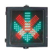 厂家供应300MM红叉绿箭头指示灯2合1