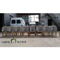 培训中心简约现代桌椅 学校休闲区桌椅 休闲吧桌椅 上海韩尔家具厂制造