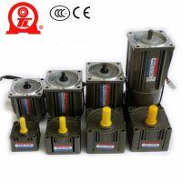 厦门东历电机5IK60GU-CB单相异步电动机带刹车感应式电机