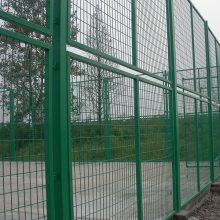 绿色养殖圈地护栏网 高速公路防护网 隔离框架网
