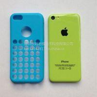 供应新款苹果iPhone5C手机壳  TPU保护套  硅胶手机壳 多彩手机壳保护套