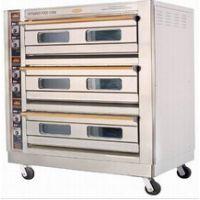 供应恒联三层六盘喷涂烘炉PL-6、三层六盘电烤炉、烤箱