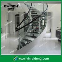 深圳意美登楼梯供应YMD-0020室内豪派时尚旋转楼梯