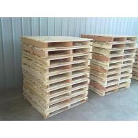 供应 君众包装 济南优质木托盘 松木单面可四面进叉出口专用托盘
