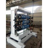 pvc小片材挤出机设备 双螺杆片材生产线