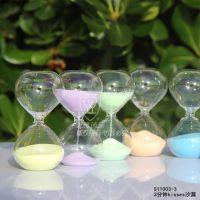 雅雅  玻璃 迷你3分钟马卡龙色 沙漏 家居  餐厅酒吧  S11003-3