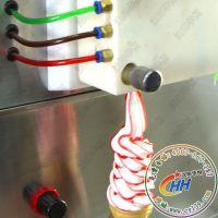 大清仓博思通冰淇淋机|各种型号冰激凌机三色 五色 七色冰淇凌机