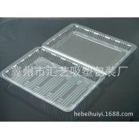 厂家直销特一深透明塑料饭盒一次性餐盒寿司盒食品盒糕点盒1600