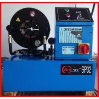 工程机械挖机油管压管机,高压油管总成扣压机,胶管压管机