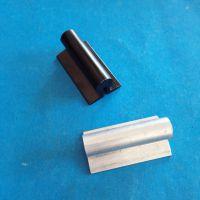 油烟机铝拉手-几字形开槽抽屉提手-氧化黑铝件