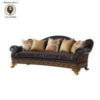 四人沙发 皮艺沙发 、客厅沙发 怎样挑选欧美品牌家具定制工厂