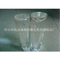 供应多泡透明亚克力气泡棒 PMMA气泡棒 水晶气泡棒