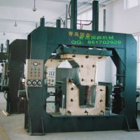 供应异形曲面板高频弯曲木热压机设备-青岛国