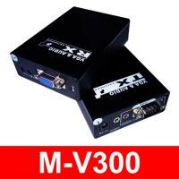 网线VGA音视频延长器传输距离达300米 M-V300