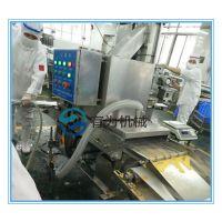 山东有为机械专业生产雪花排条鸡柳条裹雪花片机裹粉片速度可调