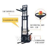 三级门架全电动堆高车 堆高叉车 生产厂家