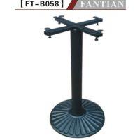 厂家全国直销优质圆形铸铁桌子腿桌台脚 铸铁台脚批发
