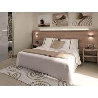 简约现代风格酒店客房床 适用于中高档酒店