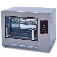 新粤海YXD-266-X旋转式电烤鸡炉 卧式电烤炉烤鸡鸭鹅炉商用电烤箱