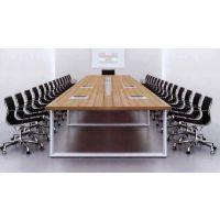 天津鸿信办公家具现代简约板式会议桌组合8人大小型特价会议桌