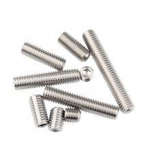 厂家销售不锈钢紧钉螺钉、紧定钉、平端紧钉螺钉,不锈钢螺钉厂家