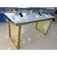 创先华为oppo开放式数码手机体验台展示台不锈钢展示柜配件柜定做