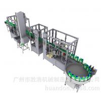 机油灌装旋盖贴标包装生产线
