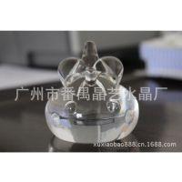 晶艺水晶-透明洋葱头公仔