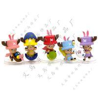 海贼王5款乔巴彩蛋食版手办 公仔 玩偶 摆件 动漫摆件批发