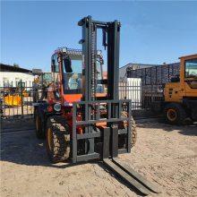 水泥厂专用四吨四驱越野叉车价格表可根据客户要求定做