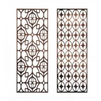 韩式不锈钢隔断定制 精致工艺雕刻金属屏风