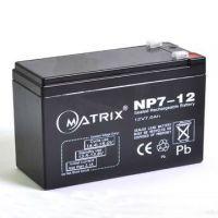 MATRIX矩阵蓄电池NP12-12 12V12AH价格