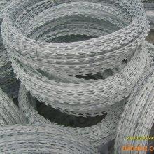 辽宁刀片刺绳10米一卷工厂报价——刺丝滚笼500kg起批