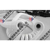 白色一级螺旋电缆弹簧线系列产品中外合资企业