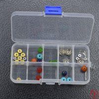 diy透明塑料专用盒首饰收纳盒收纳工具盒化妆盒