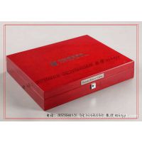 高光油漆熊猫币盒 高光金币木盒 高光金币木包装盒 高光木盒子
