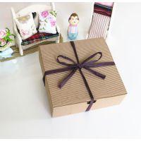 牛皮纸饼干盒纸盒 西点盒 曲奇包装盒 蛋糕盒子点心盒 小纸盒批发