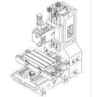 台正立式数控加工中心光机线轨L650  全国知名品牌