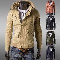外贸批发一件代购EBAY速卖通亚马逊欧美男士军装风工装夹克外套
