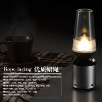奇江湖地摊产品 led吹控灯复古煤油灯 新产品鸟笼小夜灯